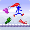 Play Best Stick Game: Stick Santa in Trouble