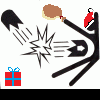 Stick Figure Smash Christmas