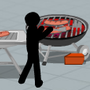 Stickman Death Barbecue