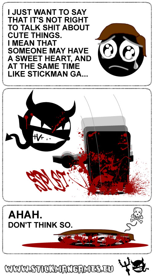 Stick Comic Meme Cute 2